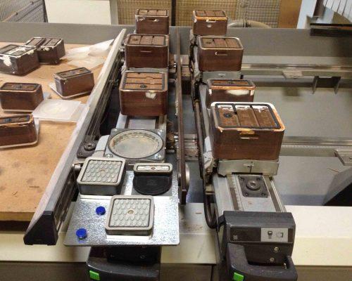 blocs de serrage & plaque adaptation
